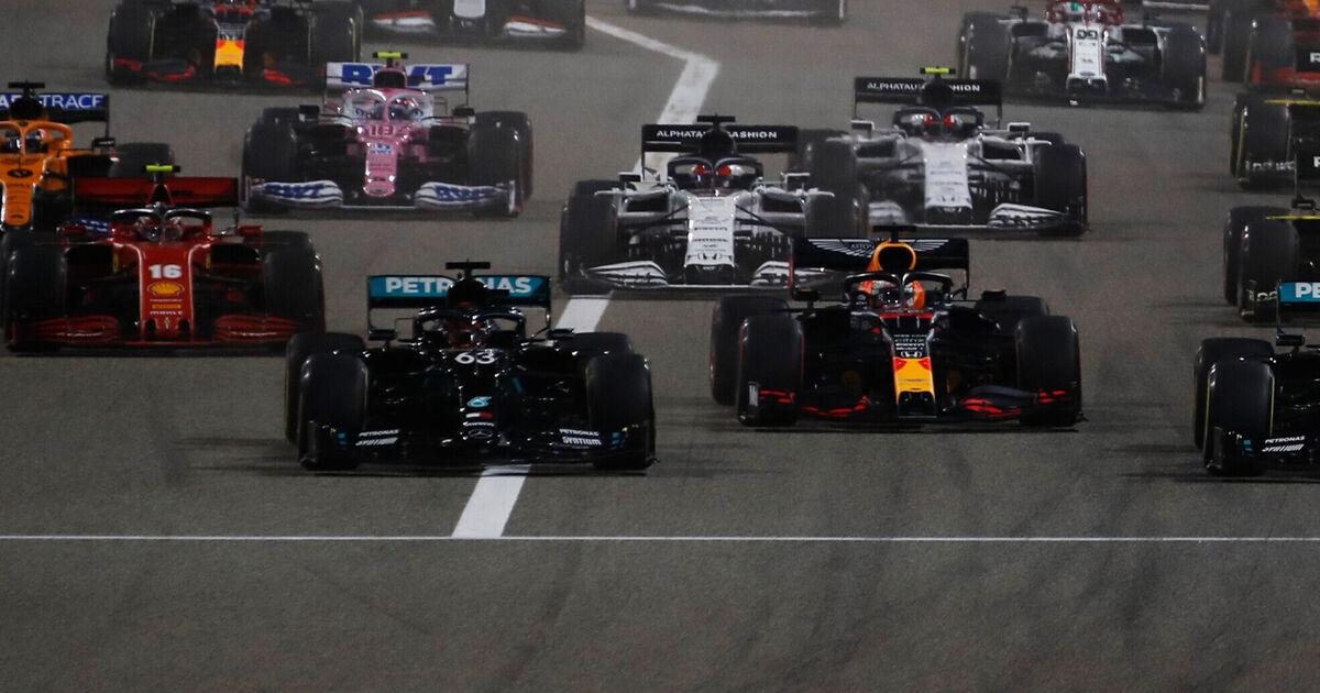 Tijdschema Formule 1 wintertest Bahrein 2021 - Racingnews365