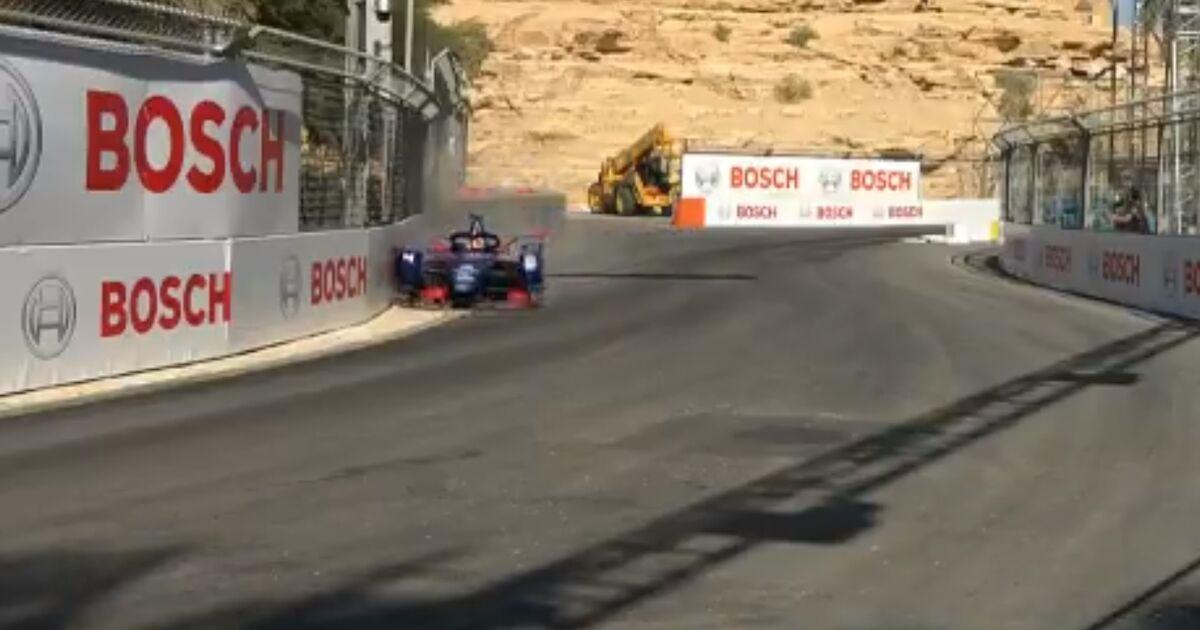 Video: Frijns mist kwalificatie na crash in Formule E - Racingnews365