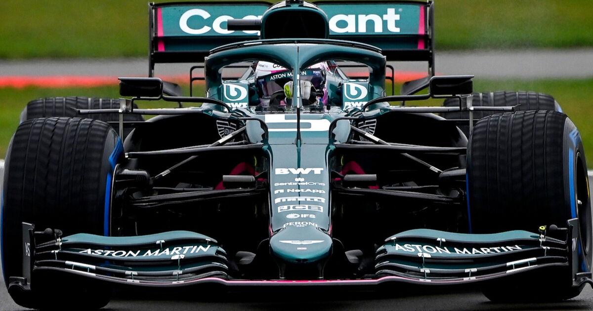Video: Vettel en Stroll maken eerste meters in groen-roze Aston Martin-bolide - Racingnews365