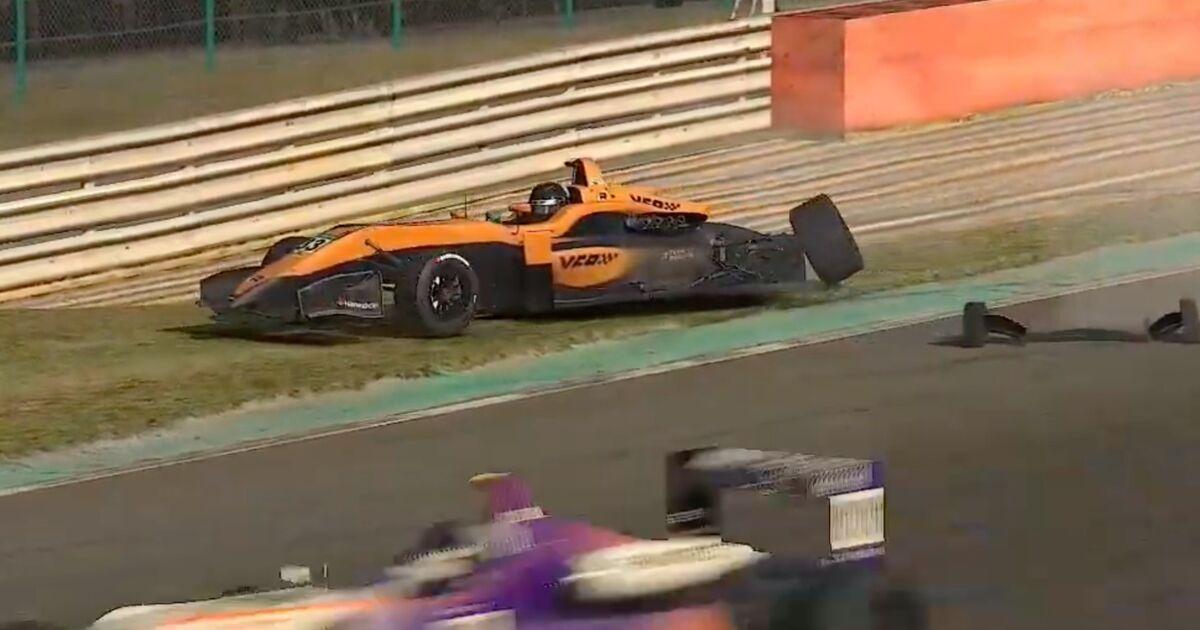 Video: Verstappen crasht op bizarre wijze uit de race op Spa-Francorchamps - Racingnews365