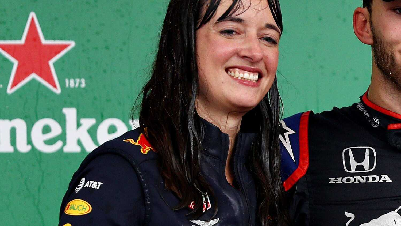 Hannah Schmitz Red Bull Racing