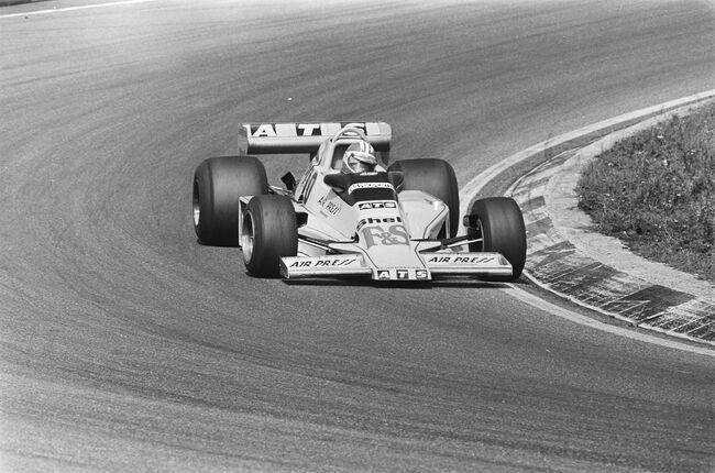© Bert Verhoeff / Anefo   |   Michael Bleekemolen kwam eind jaren '70 enkele Grands Prix uit voor ATS.