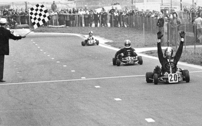 © Terry Fullerton wint het WK van 1973